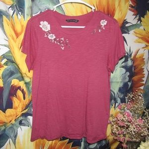 Floral Abercrombie & Fitch t-shirt